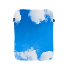 Sky Clouds Blue White Weather Air Apple Ipad 2/3/4 Protective Soft Cases by Simbadda