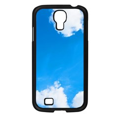 Sky Clouds Blue White Weather Air Samsung Galaxy S4 I9500/ I9505 Case (black) by Simbadda