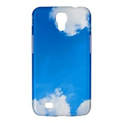 Sky Clouds Blue White Weather Air Samsung Galaxy Mega 6 3  I9200 Hardshell Case by Simbadda