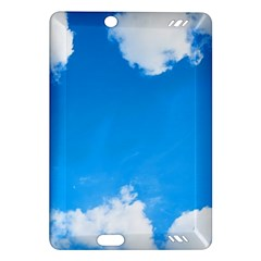 Sky Clouds Blue White Weather Air Amazon Kindle Fire Hd (2013) Hardshell Case by Simbadda