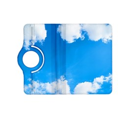 Sky Clouds Blue White Weather Air Kindle Fire Hd (2013) Flip 360 Case by Simbadda