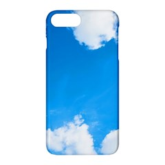 Sky Clouds Blue White Weather Air Apple Iphone 7 Plus Hardshell Case by Simbadda