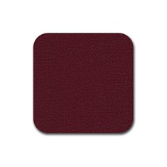 Seamless Texture Tileable Book Rubber Square Coaster (4 Pack)  by Simbadda