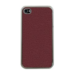 Seamless Texture Tileable Book Apple Iphone 4 Case (clear) by Simbadda