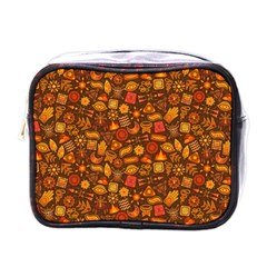 Pattern Background Ethnic Tribal Mini Toiletries Bags by Simbadda