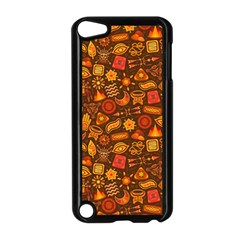 Pattern Background Ethnic Tribal Apple Ipod Touch 5 Case (black) by Simbadda
