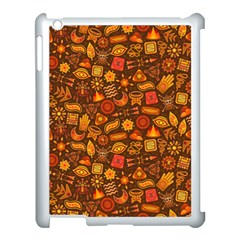 Pattern Background Ethnic Tribal Apple Ipad 3/4 Case (white) by Simbadda