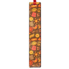 Pattern Background Ethnic Tribal Large Book Marks by Simbadda