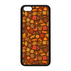 Pattern Background Ethnic Tribal Apple Iphone 5c Seamless Case (black) by Simbadda
