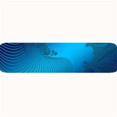 Fractals Lines Wave Pattern Large Bar Mats by Simbadda