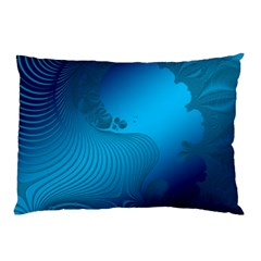 Fractals Lines Wave Pattern Pillow Case (two Sides) by Simbadda