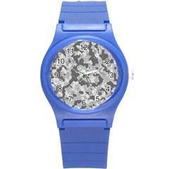 Camouflage Patterns  Round Plastic Sport Watch (s) by Simbadda