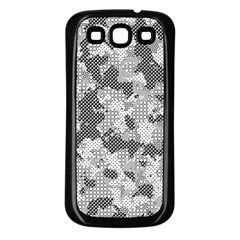 Camouflage Patterns  Samsung Galaxy S3 Back Case (black) by Simbadda