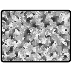 Camouflage Patterns  Double Sided Fleece Blanket (large)  by Simbadda