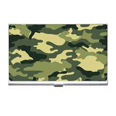 Camouflage Camo Pattern Business Card Holders by Simbadda