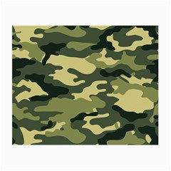 Camouflage Camo Pattern Small Glasses Cloth by Simbadda