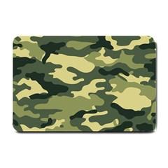 Camouflage Camo Pattern Small Doormat  by Simbadda