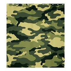 Camouflage Camo Pattern Shower Curtain 66  X 72  (large)  by Simbadda