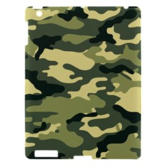 Camouflage Camo Pattern Apple Ipad 3/4 Hardshell Case by Simbadda