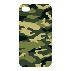 Camouflage Camo Pattern Apple Iphone 4/4s Premium Hardshell Case by Simbadda
