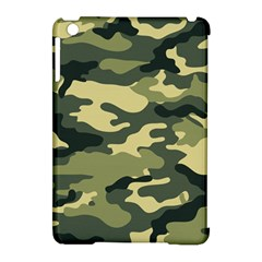 Camouflage Camo Pattern Apple Ipad Mini Hardshell Case (compatible With Smart Cover) by Simbadda