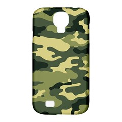 Camouflage Camo Pattern Samsung Galaxy S4 Classic Hardshell Case (pc+silicone) by Simbadda