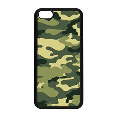 Camouflage Camo Pattern Apple Iphone 5c Seamless Case (black) by Simbadda