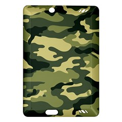 Camouflage Camo Pattern Amazon Kindle Fire Hd (2013) Hardshell Case by Simbadda