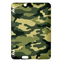 Camouflage Camo Pattern Kindle Fire Hdx Hardshell Case by Simbadda