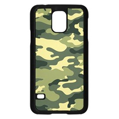 Camouflage Camo Pattern Samsung Galaxy S5 Case (black) by Simbadda