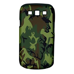 Military Camouflage Pattern Samsung Galaxy S Iii Classic Hardshell Case (pc+silicone) by Simbadda