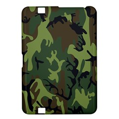 Military Camouflage Pattern Kindle Fire Hd 8 9  by Simbadda