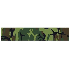 Military Camouflage Pattern Flano Scarf (large)