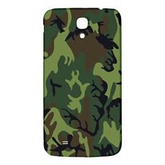 Military Camouflage Pattern Samsung Galaxy Mega I9200 Hardshell Back Case by Simbadda