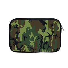 Military Camouflage Pattern Apple Macbook Pro 13  Zipper Case by Simbadda