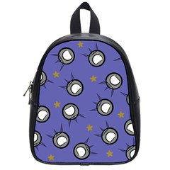 Rockets In The Blue Sky Surrounded School Bags (small)  by Simbadda