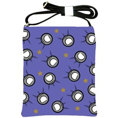 Rockets In The Blue Sky Surrounded Shoulder Sling Bags by Simbadda