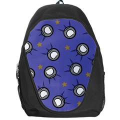 Rockets In The Blue Sky Surrounded Backpack Bag by Simbadda