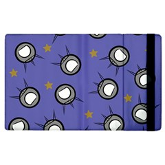Rockets In The Blue Sky Surrounded Apple Ipad 3/4 Flip Case by Simbadda