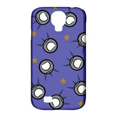 Rockets In The Blue Sky Surrounded Samsung Galaxy S4 Classic Hardshell Case (pc+silicone) by Simbadda