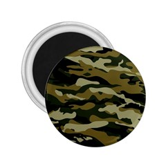 Military Vector Pattern Texture 2 25  Magnets by Simbadda