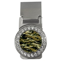 Military Vector Pattern Texture Money Clips (cz)  by Simbadda