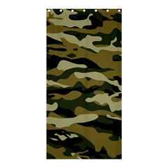 Military Vector Pattern Texture Shower Curtain 36  X 72  (stall)  by Simbadda