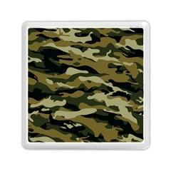 Military Vector Pattern Texture Memory Card Reader (square)  by Simbadda