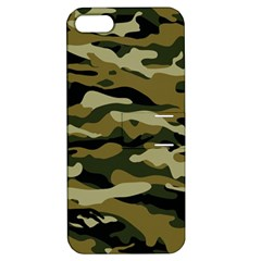 Military Vector Pattern Texture Apple Iphone 5 Hardshell Case With Stand by Simbadda