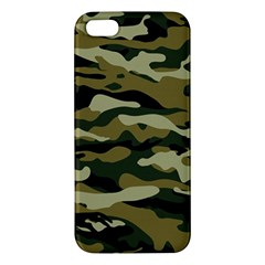 Military Vector Pattern Texture Apple Iphone 5 Premium Hardshell Case by Simbadda