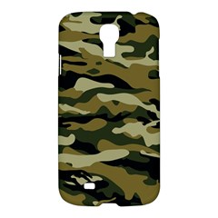 Military Vector Pattern Texture Samsung Galaxy S4 I9500/i9505 Hardshell Case by Simbadda
