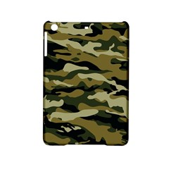 Military Vector Pattern Texture Ipad Mini 2 Hardshell Cases by Simbadda