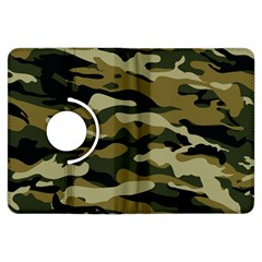 Military Vector Pattern Texture Kindle Fire Hdx Flip 360 Case by Simbadda