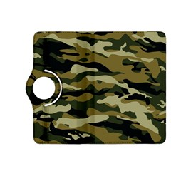 Military Vector Pattern Texture Kindle Fire Hdx 8 9  Flip 360 Case by Simbadda